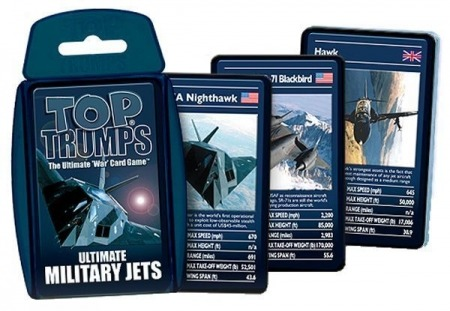 Top Trumps Card Game