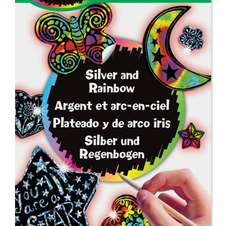 Melissa & Doug Scratch Art Rainbow Design